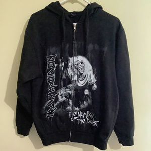 Iron Maiden Number of the Beast Hoodie